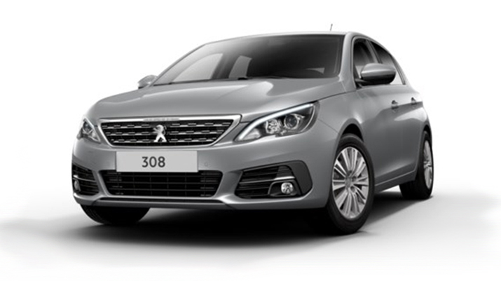 photo PEUGEOT 308 1.2 PURETECH 130CV EAT8 ALLURE + PARK ASSIST + TOIT PANO