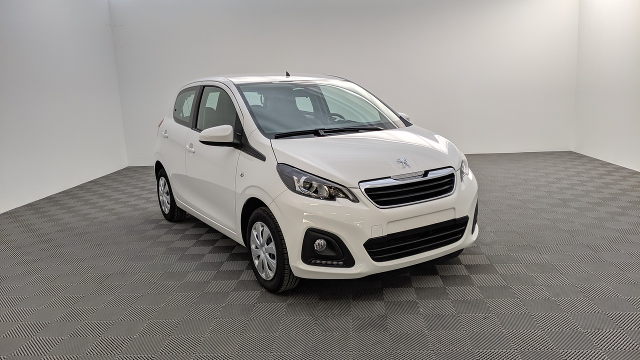 photo PEUGEOT 108 1.0 VTI 72CV BVM5 ACTIVE 5P + CLIMATISATION MANUELLE + MIRROR SCREEN + PROJECTEURS ANTIBROUILLARD