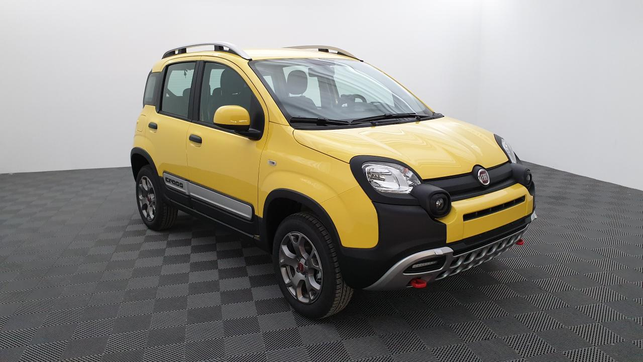Photo FIAT PANDA 0.9 85 CV TWINAIR 4X4 CROSS + SIÈGES AV CHAUFFANTS