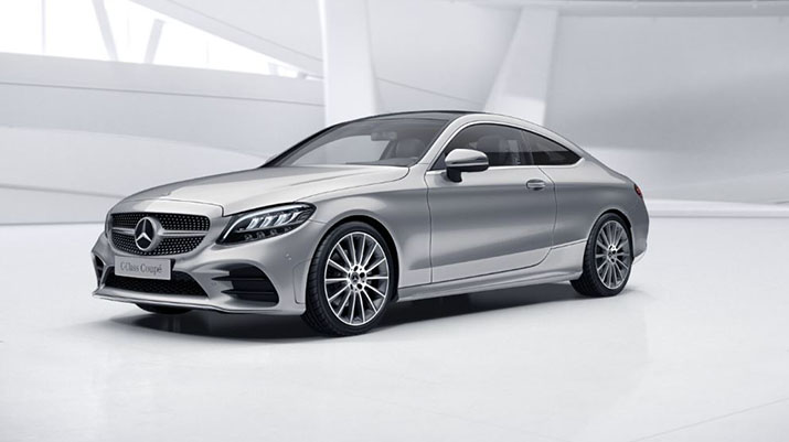 MERCEDES CLASSE C COUPE 220D 194CV 9G-TRONIC 4MATIC AMG LINE