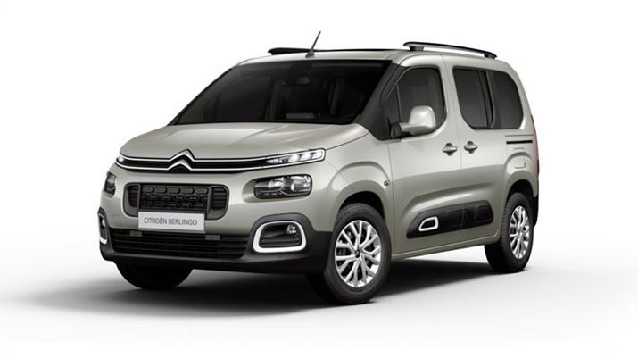 Photo CITROEN BERLINGO 1.5 BLUEHDI 130CV EAT8 5PL TAILLE M SHINE + CAMERA DE RECUL + TOIT PANO + JANTES 16